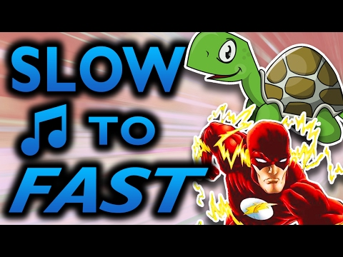 Slow To Fast (Images With Music)
