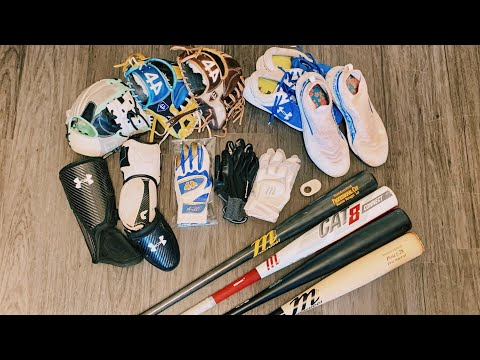 CLEANING BASEBALL EQUIPMENT