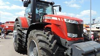 Обзор трактора Massey Ferguson 8690. Overview tractor Massey Ferguson 8690.