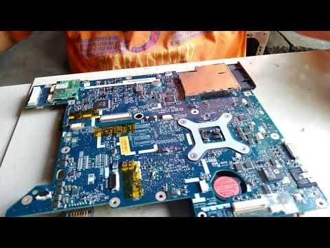 Memperbaiki Acer 4935 Hidup Bentar Mati / Repair Laptop LA-4492P Live 5 Minutes Die