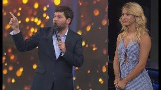 Flor Vigna eligió a la pareja que mejor bailó en La tribuna de Guido