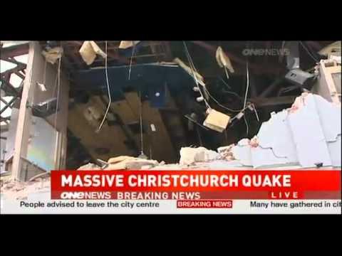 Breaking News Earthquake Hits New Zealand 2/22/2011