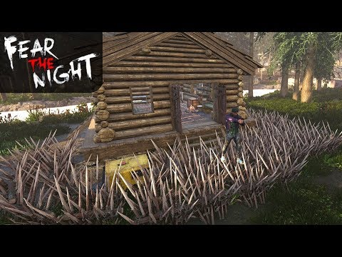 FIRST GUN & SPIKES 4 DAYS! | Fear the Night | Let's Play Gameplay | S01E05