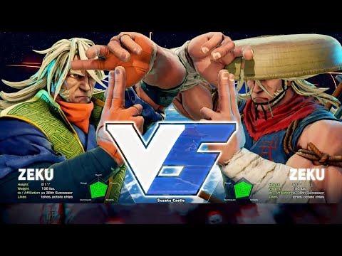 Street Fighter 5 - Zeku Gameplay Matches