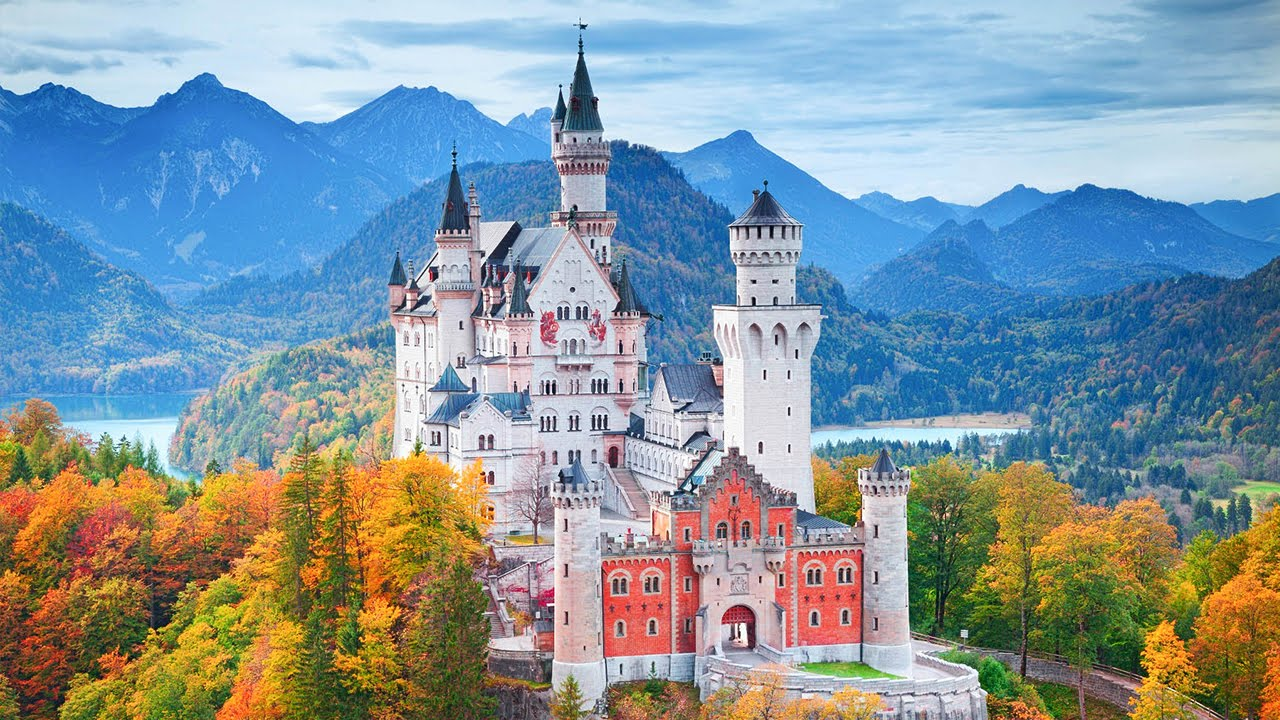 German Neuschwanstein Castle Amazing Places To Visit In The World Youtube