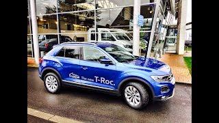 EN ROUTE VERS LE SALON DE L'AUTO DE BRUXELLES 2018 EN VW T-ROC
