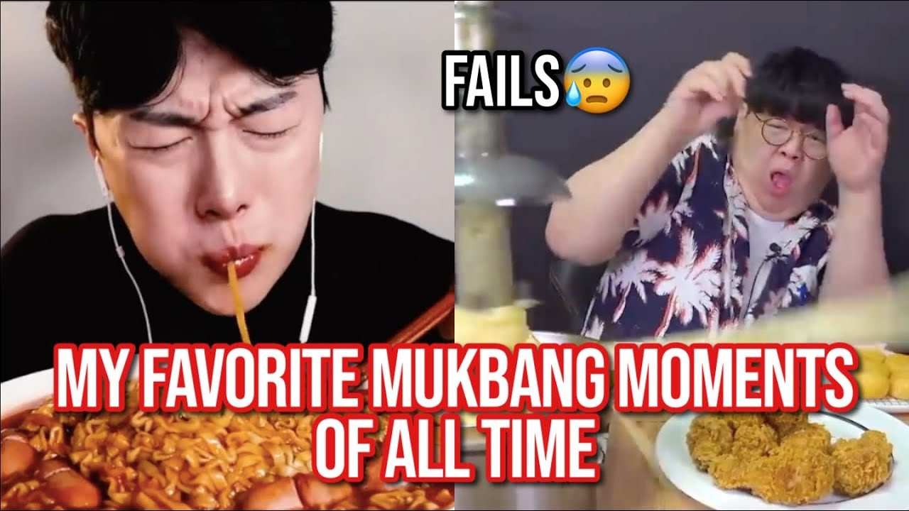 my favorite mukbang moments of all time (HILARIOUS)