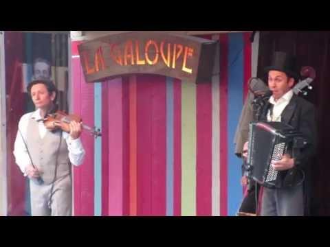 La Galoupe à Transat en ville - Méli mélodie (Boby Lapointe)