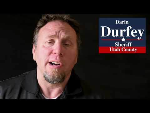 Darin Durfey endorsed by Dale Bench- Health Services Administrator at Utah County Jail