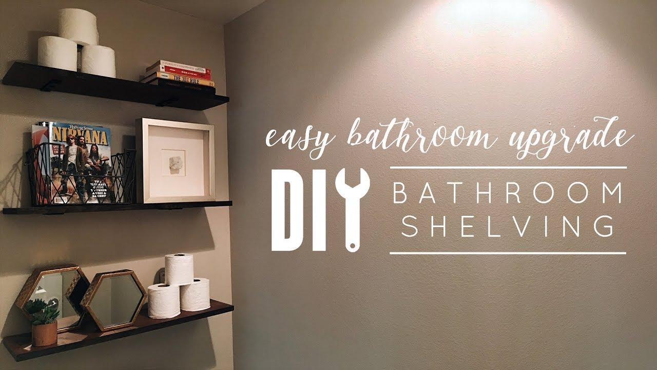 Diy Bathroom Shelves You