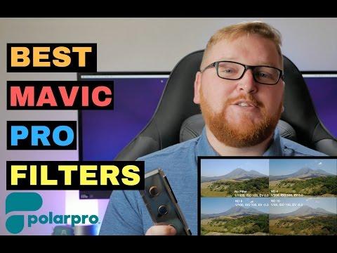 Best Mavic Pro Filters? Polar Pro Mavic Filters Review