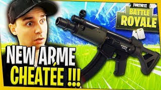 THE NEW WEAPON IS CHEATED !!! FORTNITE