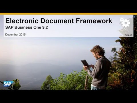 Electronic Document Framework