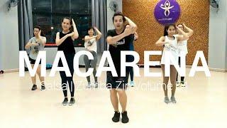 Macarena - Salsa | Zumba® Zin Volume 64 | By MiwMiw | The Diva Thailand