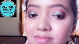 ##Durga Puja Panchami Makeup Look Tutorial## ALL FOR BEAUTY WITH PIYALI