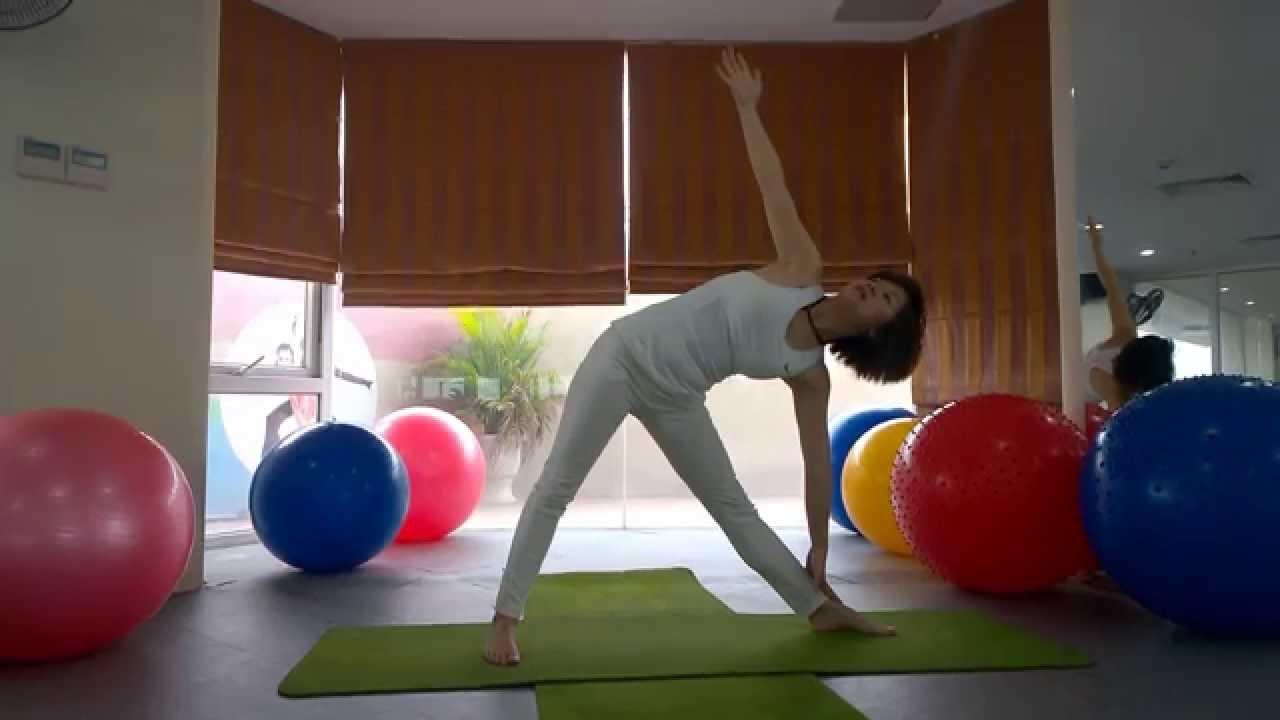 Yoga giảm cân - Bài tập yoga giảm mỡ bụng siêu tốc part 3 (Yoga For Weight Loss)