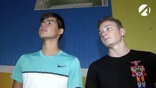 Размер не имеет значения. Астраханские школьники соревнуются на тренажерах.
