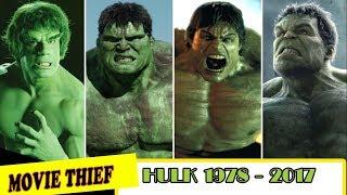 [TỔNG HỢP] Những Phiên Bản Của NGƯỜI KHỔNG LỒ XANH -Hulk 1978-2017| Kênh Movie Thief