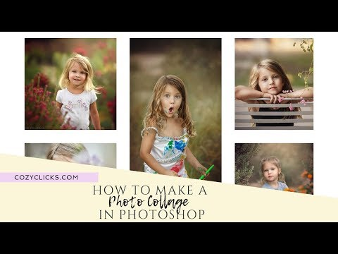 How To Create A Photo Collage In Photoshop VIDEO