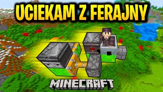 ZBUDOWAŁEM SAMOLOT - UCIEKAM Z FERAJNY! Minecraft Ferajna