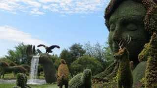 видео Садово-Парковое искусство России / Национальный туризм