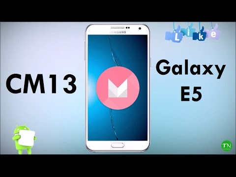 How To Install CyanogenMod 13 on Samsung Galaxy E5 SM-E500H Android 6.0.1 Marshmallow Update