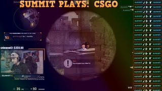Summit Plays Csgo With Shroud
