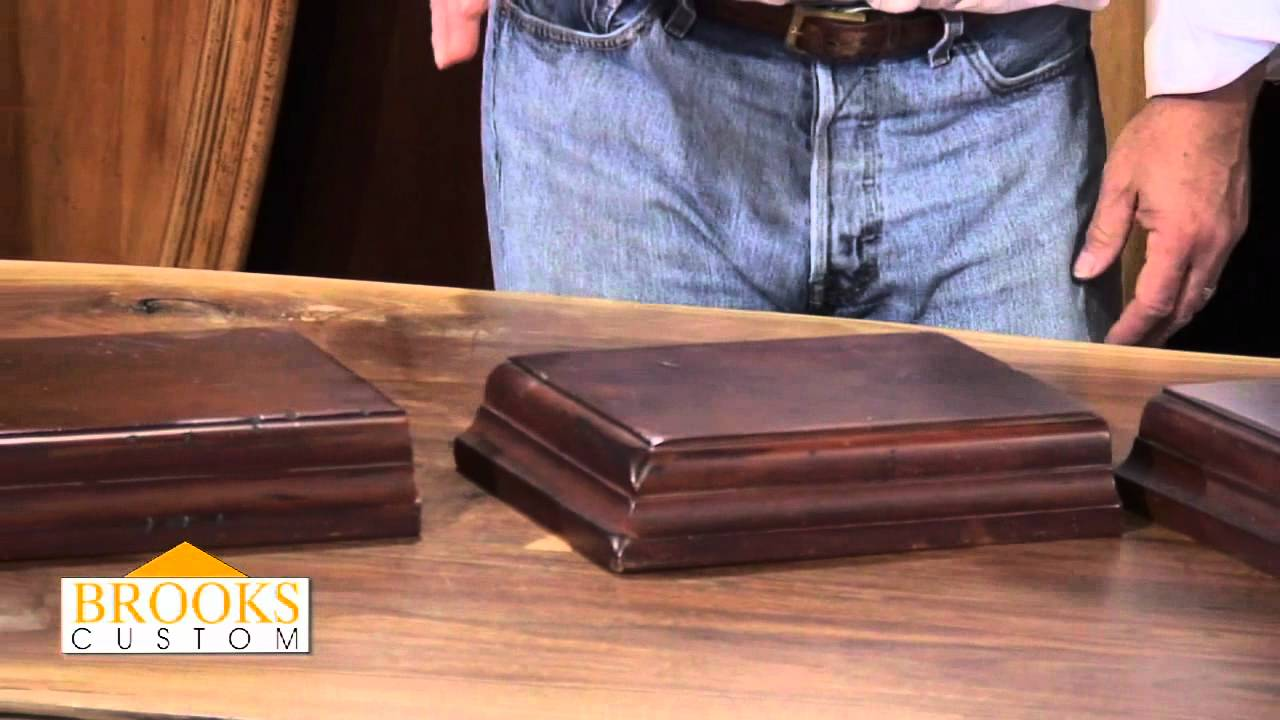 Premium wide plank wood countertops brooks custom - Premium Wood Countertops Brooks Custom