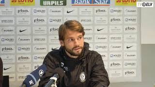 TV Elv // Pressekonferenz - SV Elversberg vs. Stuttgarter Kickers / 14.10.17