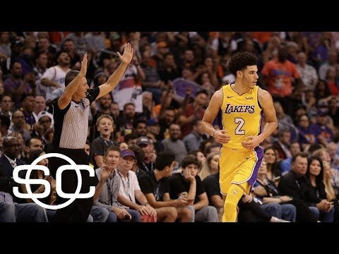 Lonzo Ball as good as advertised in second game | SportsCenter | ESPN