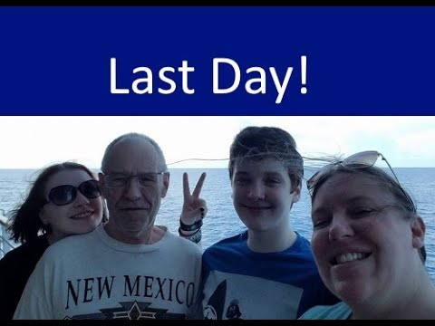 Last Day of the Cruise 🐟Food - Karaoke - Disembaraktion [ep1