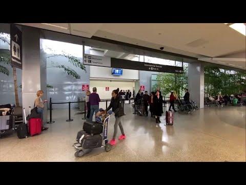 US airports screen passengers for China virus