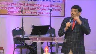 2015-10-08 Atlanta Tamil Church Thursday Special Service - Rev. Paul Thangiah