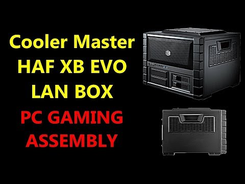 Cooler Master HAF XB EVO LAN BOX - ATX Cube Case per Gaming PC & HTPC | Complete Assembly