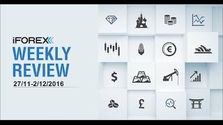 iFOREX Weekly Review 27/11-2/12/2016: US Dollar, Canadian Dollar and Japanese Yen.