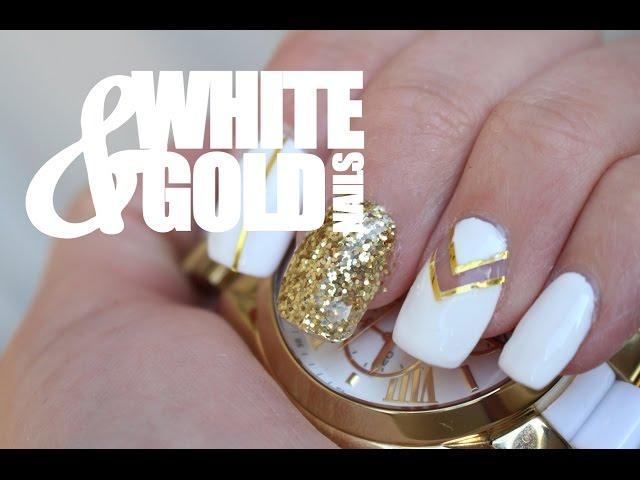 15 White Nail Art Designs - White Manicure Tutorials