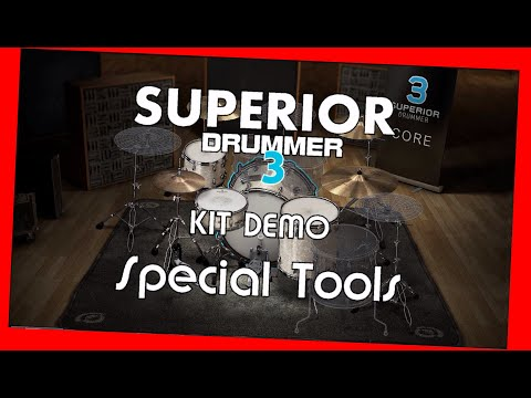 SUPERIOR Drummer 3 - Demo Special Tools - Preset overview TOONTRACK