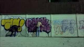 Graffiti Ilegal Mexico. Rasek..Zaben..EAR..Aerosoul Team.