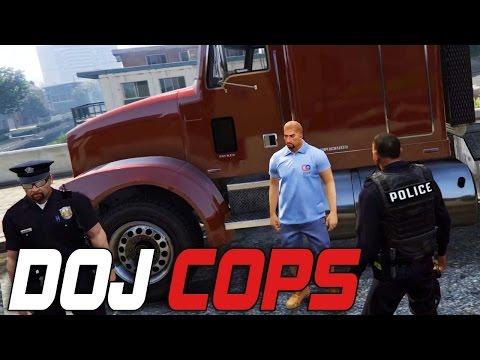 Dept. of Justice Cops #52 - Beach Truckin (Criminal)
