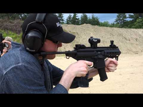 SIG MPX 9mm Machine Pistol/Submachine Gun (SMG) at the Range 2