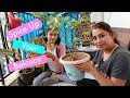 Indian House Wife Vlog | Mom & Daughter Does Flower Pot Painting | Indian Mom Studio