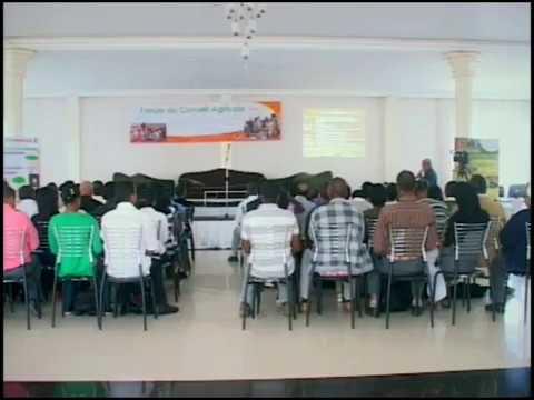 Présentation du Forum du Conseil Agricole à Madagascar