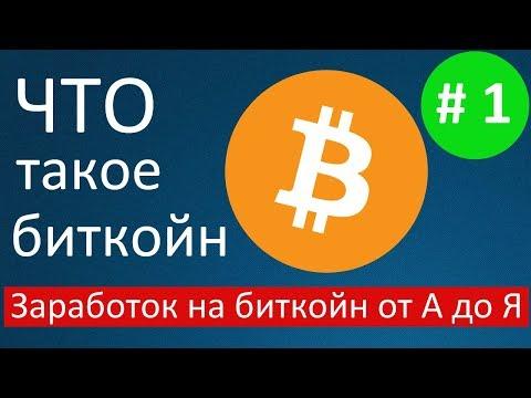 Монета Биткоин. Заработок на биткоин от А до Я. Урок 1из YouTube · Длительность: 1 мин20 с