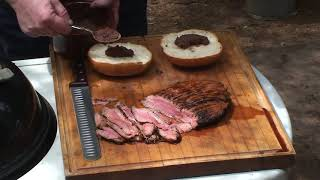 Flank Steak Sandwich Recipe By The Bbq Pit Boys
