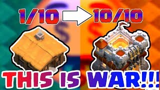 Rating Bases🤑!!! (Farming) | First Clan War Collab!!! | Clash Of Clans