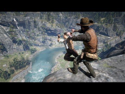 Red Dead Redemption 2 PC 60FPS - Funny & Brutal Moments Vol. 41 (Euphoria Ragdolls)