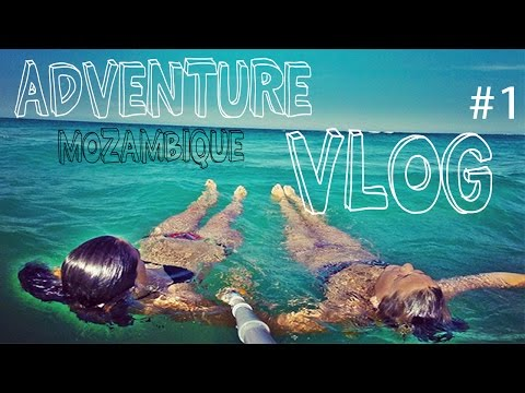 Adventure Vlog using my GoPro Hero 3! (#1) Mozambique