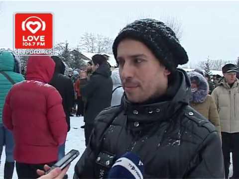 Максим Галкин  в Острогожске на присяге
