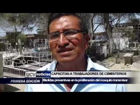 CAPACITAN A TRABAJADORES DE CEMENTERIOS POR  VELACIONES -UCV NOTICIAS PIURA