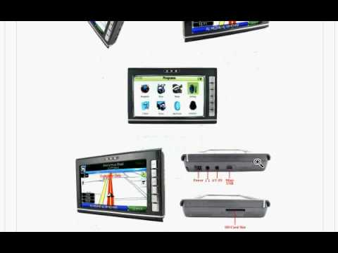 $ 152-US, 7 Inch Portable GPS Navigation Touchscreen Unit